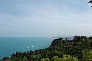 Verso Portonovo - da Varano e Monte San Pietro