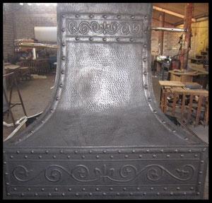Exclusive Dark Patina copper hood #2