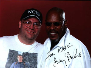 Highlight: Ich mit Avery Brooks auf der FedCon in Bonn (2007) Highlight: Me and Avery Brooks at FedCon in Bonn (2007)