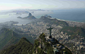 le Corcovado à Rio