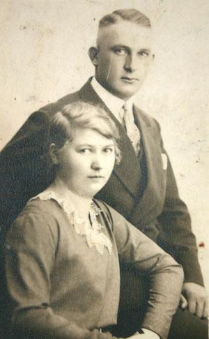 Fritz Amborn & Lina, geb. Büchner - Archiv H. Luck
