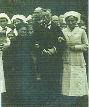 Königinmutter Olga Romanowa und Graf Wiser - Archiv Engelhardt