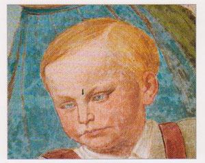 Prinz Georg im Lüftel dargestellt
