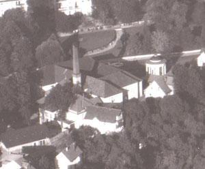 Theater und Badehaus Zustand 1938 - Archiv W.Malek