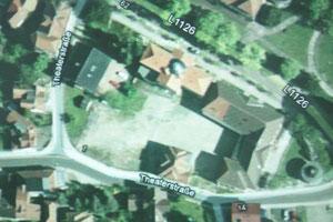 Theater Luftaufnahme ca 2010