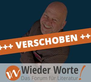 """Bernd Gieseking ist am 27. Mai bei """"Wieder Worte"""" zu Gast im Jünglingshaus Eupen (B)."""