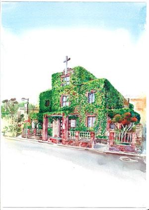 金 斗鉉 画 警固教会