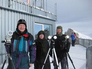 Sonnenfinsternis Zugspitze 2011