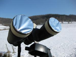 Sonnenfilter aus Filterfolie