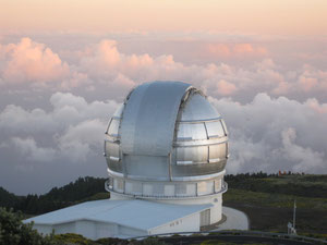 Das GTC: Gran Telescopio Canarias