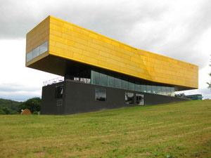 Die Arche Nebra. Museum zur Himmelsscheibe in der Nähe der Fundstelle