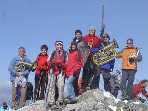 Bergmesse auf der Kogelseespitze 27.09.2008
