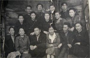 Коллектив учителей АСШ - 1955 г.
