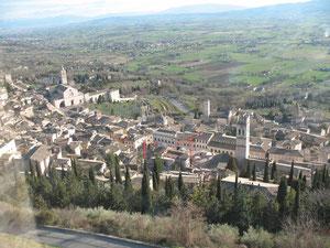 Vista dalla Rocca Maggiore