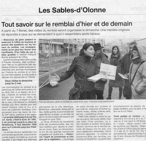 Ouest France 30-31/01/2010