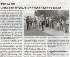 Ouest France Juillet 2011