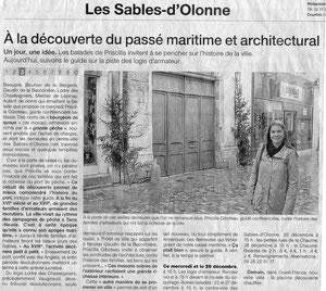 Ouest France Décembre 2011