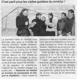 Ouest France 08/02/2010