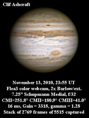 Jupiter November 13, 2010