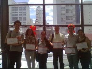 felicitaciones a mis alumnos
