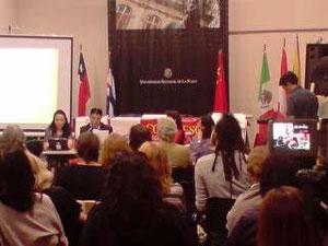 11-11-2011,expusimos en el 1er Congreso Latinoamericano de Estudios Chinos, organizado por la UNLP.