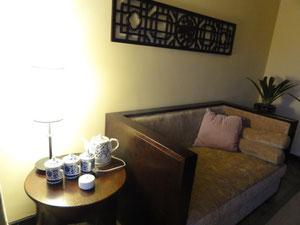 とても落ち着くFarneba Hotelの部屋