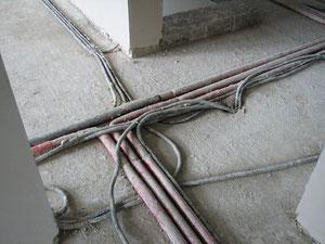 Kabel-Rohrsalat