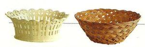 1°:Scegliete un cestino, cache.pot, ciotola o altro contenitore che avete in casa