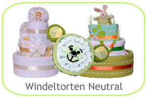 Windeltorten neutral