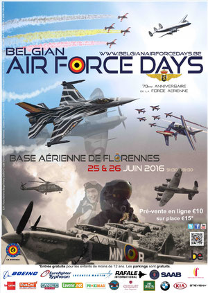 BAFDAYS16 Florennes airshow 2016 , Meeting Aerien 2016