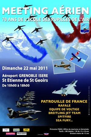 Meeting Aerien St-Geoirs /70 ans des pupilles de l'air 2011