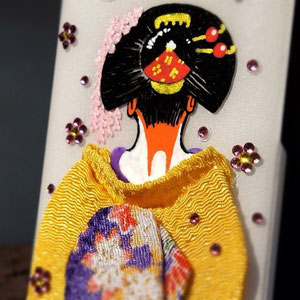 Geisha phone case