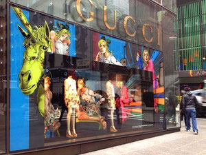 Go to the official Gucci site Source: Hirohiko Araki/ Gucci/ Nikkei
