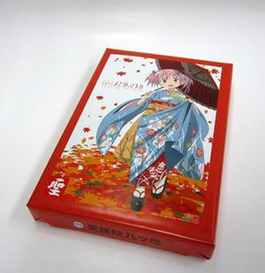 Puella Magi Madoka Magica Yatsuhashi only available at Animate Kyoto and Animate Avanti Kyoto!