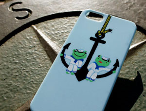 Sailor Frog design mobile case