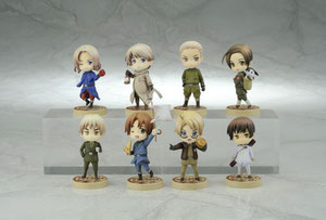 More cool Hetalia toys available now!!   Source: HIMARUYA HIDEKAZ/GENTOSHA COMICS INC.