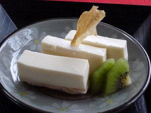 豆乳ゆばプリン