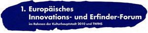 1. Europäisches Innovations- und Erfinderforum