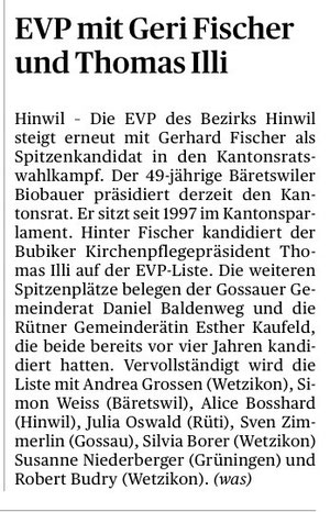 Tages-Anzeiger vom 9. November 2010