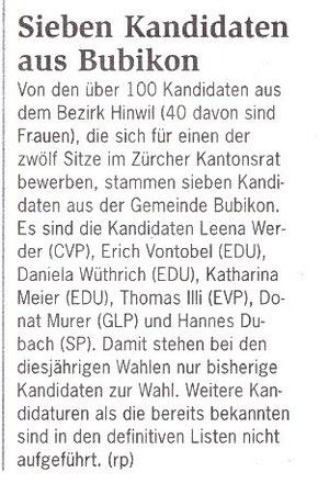 """regio.ch"" vom 27. Januar 2011"