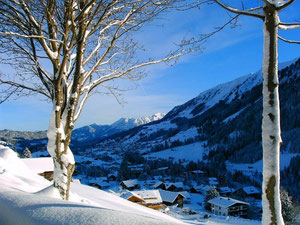 Riezlern im Winter
