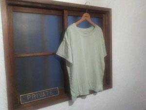 超長綿drop sleev T////green