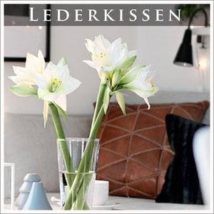 Lederkissen Leder Sitzkissen orientalische Kissen Casa Mina Design