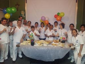 Fin de practicas Hospitalarias Htal De Gastro. !er- año 1er cuatr. Mod II
