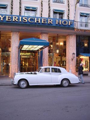 Rolls-Royce - Hochzeit im Bayrischer Hof in München