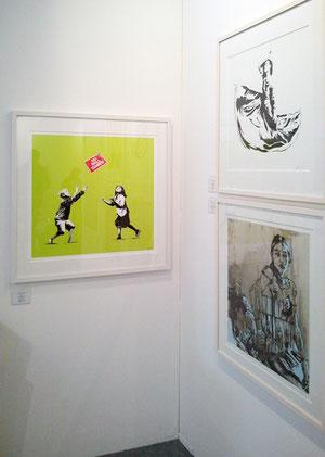 Banksy Blek le Rat Swoon Galerie Kasten