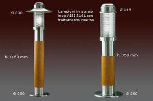 Torretas de iluminacion para pantalanes