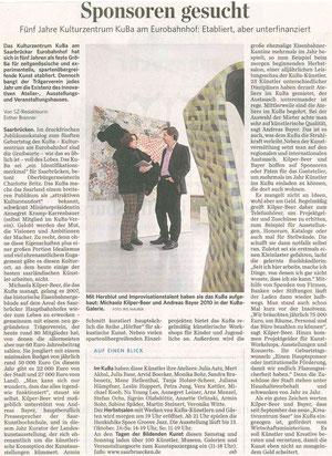 Saarbrücker Zeitung, 28. September 2012