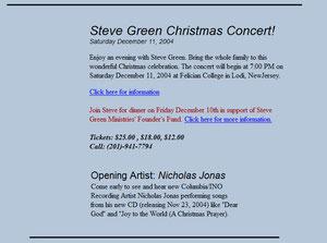 nicholas nick jonas brothers ino columbia records steve greenberg christmas concert opening artist