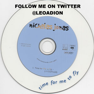 nicholas jonas time for me to fly single promo cd